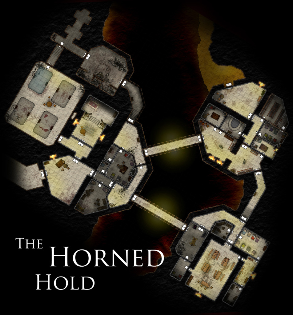 horned hold small